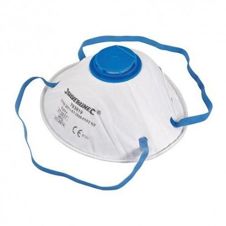 Masque respiratoire moulé à valve FFP2 NR - 793819 - Silverline