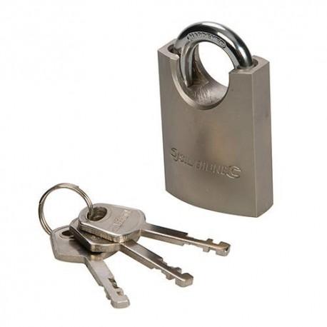 Cadenas en acier à anse protégée 60 mm - 801285 - Silverline