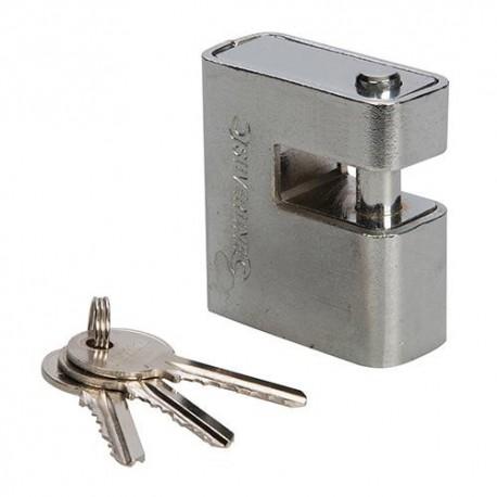 Cadenas blindé monobloc 60 mm - 819718 - Silverline