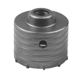 Trépan carbure D. 80 mm pour béton Lu 60 mm - 823541 - Silverline