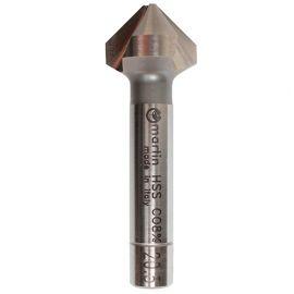 Fraise à chanfreiner Pro en HSS-Co 8% à 90° 3 dents asymétrique D. 31 mm DIN 335C - SVAC3100 - Martin