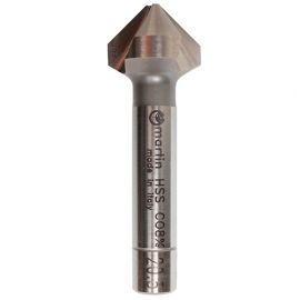 Fraise à chanfreiner Pro en HSS-Co 8% à 90° 3 dents asymétrique D. 20,5 mm DIN 335C - SVAC2050 - Martin