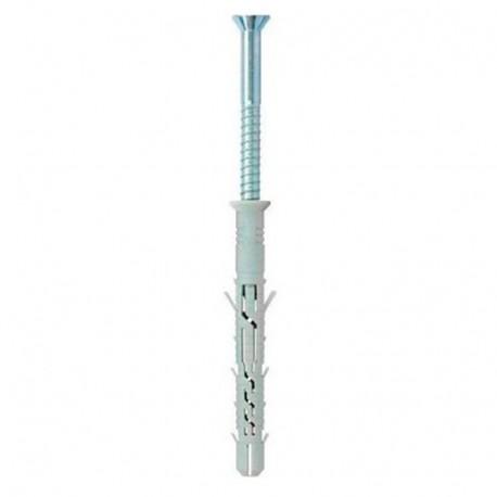 Fixtout 10 x 200 mm Blister de 5 chevilles /à expansion nylon /à visser NFA+ D Fixtout