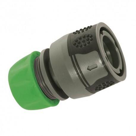 """Raccord rapide confort 1/2"""" pour tuyau d'arrosage - 864167 - Silverline"""