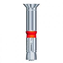 Blister de 5 chevilles métalliques à expansion charges lourdes GC D. 15 x M10 x Lt. 100 mm - Fixtout