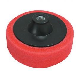Éponge de polissage rouge D. 150 x 38 mm M14 très tendre - 868541 - Silverline