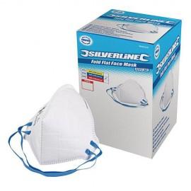 Boîte présentoir de 50 masques respiratoires pliables FFP2 NR - 868550 - Silverline