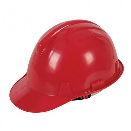 Casque de sécurité Rouge - 868668 - Silverline