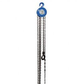 Palan à main à chaîne 2000kg / hauteur levage 3 M - 868692 - Silverline