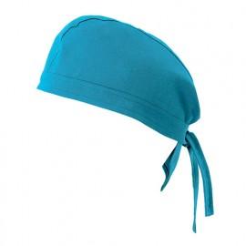 Bandana de cuisine 65% polyester 35% coton 190 gr/m2 - Bleu Ciel - 404002 - Velilla