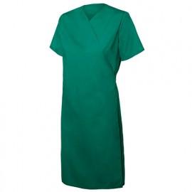 Blouse croisée femme agroalimentaire 65% polyester 35% coton 104 gr/m2 - Vert - 259002 - Velilla