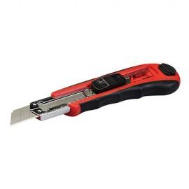 Cutter à lame sécable auto-rechargeable 18 mm - 868751 - Silverline