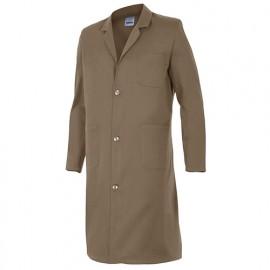 Blouse de travail 3 poches homme 65% polyester 35% coton 175 gr/m2 - Beige - 700 - Velilla
