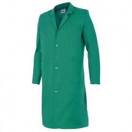 Blouse de travail 3 poches homme 65% polyester 35% coton 175 gr/m2 - Vert - 700 - Velilla