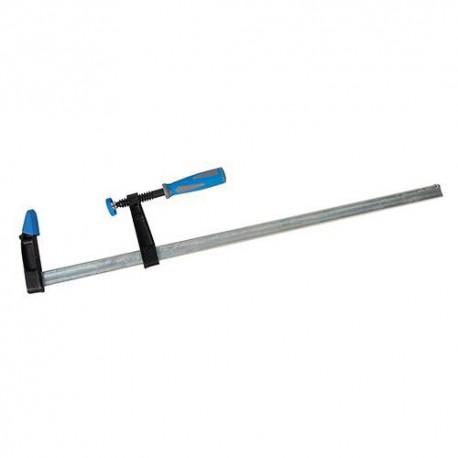 Serre-joint à visser robuste L. 450 x 80 mm - 868771 - Silverline