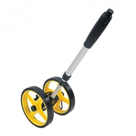 Mini-odomètre - Mini-roue de mesure 0 - 9999 m - 868793 - Silverline