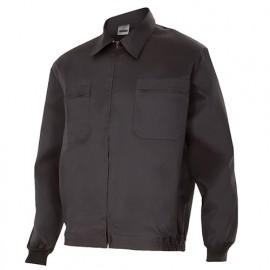 Blouson de travail 2 poches homme 80% polyester 20% coton 190 gr/m2 - Noir - 61601 - Vertice laboral