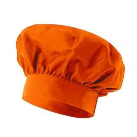 Bonnet français de cuisine 65% polyester 35% coton 210 gr/m2 - Chaudron - VAINILLA - Disvel