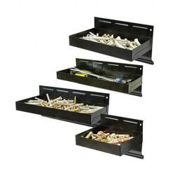 4 plateaux magnétiques 150, 215, 270 et 310 mm pour outils et vis - 868873 - Silverline