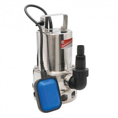 Pompe à eau chargée immergée électrique 550 W 175 L/min Silverline - 869235 - Silverline
