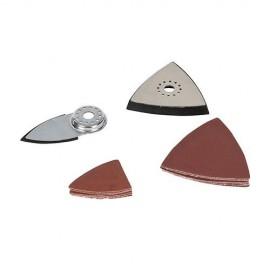 Ensemble de 14 outils de ponçage pour outil oscillant - 893428 - Silverline