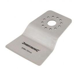 Racloir rigide 52 mm pour outil oscillant - 908256 - Silverline