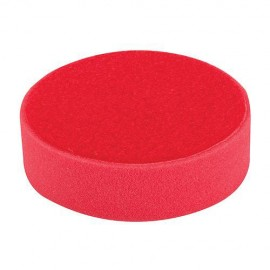 Éponge de polissage rouge D. 150 x 38 mm auto-agrippante très tendre - 908944 - Silverline