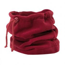 Cache cou polaire microfibre 100% polyester 220 gr/m2 - Rouge - 204002 - Velilla