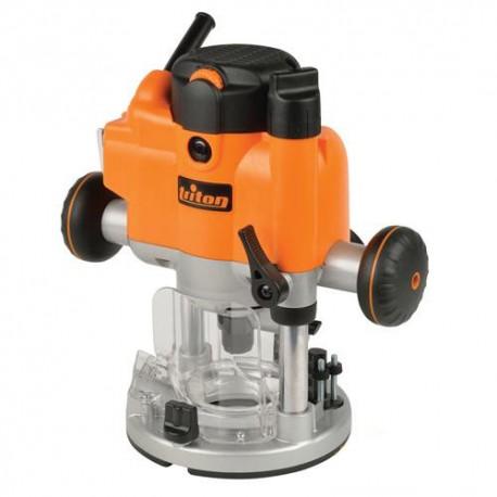 Défonceuse électrique compacte PRO Triton 1010 W, queue de 12 mm - 925837 - Triton