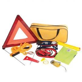 Kit d'urgence 9 pcs pour voiture - 933429 - Silverline