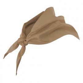 Foulard de restauration 65% polyester 35% coton 190 gr/m2 - Beige - 404003 - Velilla