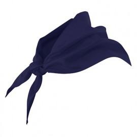 Foulard de restauration 65% polyester 35% coton 190 gr/m2 - Bleu Marine - 404003 - Velilla