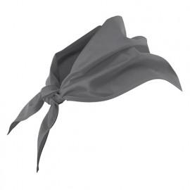 Foulard de restauration 65% polyester 35% coton 190 gr/m2 - Gris - 404003 - Velilla