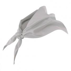 Foulard de restauration 65% polyester 35% coton 190 gr/m2 - Gris Glacial - 404003 - Velilla