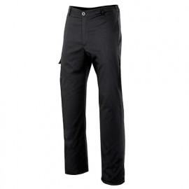 Pantalon de cuisine homme 65% polyester 35% coton 210 gr/m2 - Noir - OREGANO00 - Disvel