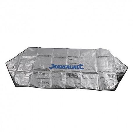 Bâche de protection pour pare-brise 1,7 x 0,7 M - 966668 - Silverline