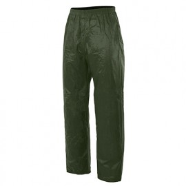 Pantalon de pluie 100% polyester recouvert de PVC 180 gr/m2 - Vert - 188 - Velilla