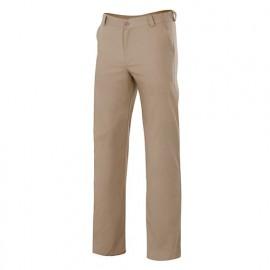 Pantalon de service à pinces arrière 65% polyester 35% coton 210 gr/m2 - Beige - VERDEJO - Disvel