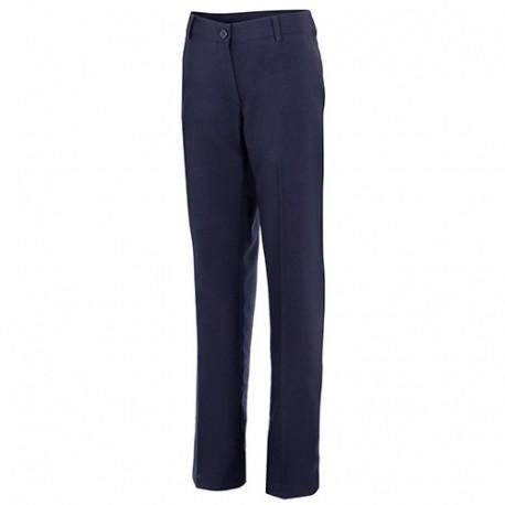 Pantalon de service salle femme 100% polyester stretch 180 gr/m2 - Bleu Marine - 303 - Velilla