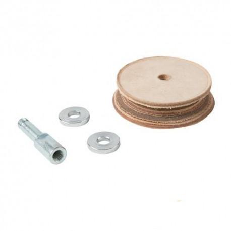 Disque de démorfilage profilé en cuir pour affûteuse Triton TWSS10 - 980292 - Triton