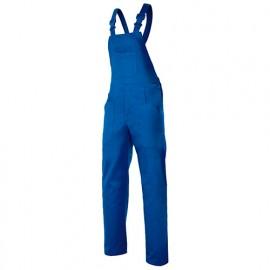 Salopette de travail industrie 6 poches 65% polyester 35% coton 190 gr/m2 - Bleu Azur - 290 - Velilla