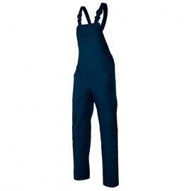 Salopette de travail industrie 6 poches 65% polyester 35% coton 190 gr/m2 - Bleu Marine - 290 - Velilla