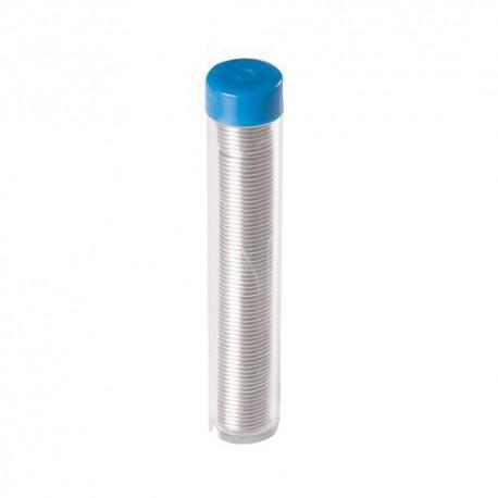 Bobine de fil à soudure 100g 60 étain /40 plomb - AS15 - Silverline