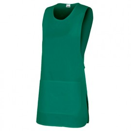 Tablier chasuble réversible agroalimentaire 65% polyester 35% coton 190 gr/m2 - Vert - 254201 - Velilla