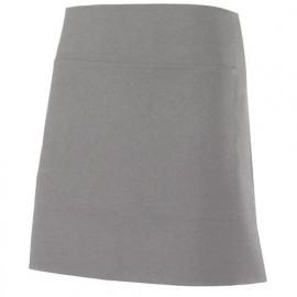 Tablier de service court à poche 100% polyester 160 gr/m2 - Gris Vigoré - 404205 - Velilla