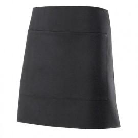 Tablier de service court à poche 100% polyester 160 gr/m2 - Noir - 404205 - Velilla