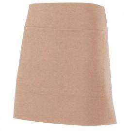 Tablier de service court à poche 100% polyester 160 gr/m2 - Sable Vigoré - 404205 - Velilla