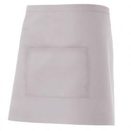 Tablier de service court à poche 65% polyester 35% coton 190 gr/m2 - Gris Glacial - 404201 - Velilla