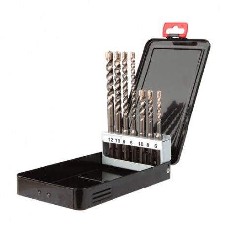 Coffret 7 pcs D. 6, 8, 10 x L. 110 mm et D. 6, 8, 10, 12 x L. 160 mm Booster-plus - 113D - Diager