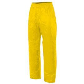 Pantalon de pluie 100% polyester recouvert de PVC 180 gr/m2 - Jaune - 188 - Velilla
